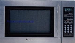 NEW FULL STAINLESS STEEL MICROWAVE OVEN $699