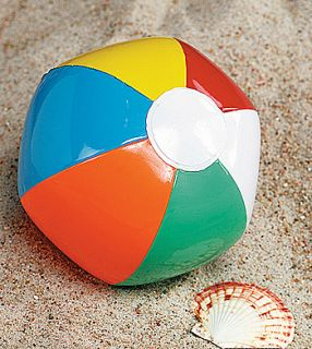 12 Mini Beach Balls Traditional Luau Pool Party Favors