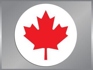 Canadian Maple Leaf Vinyl Decal Canada Sticker Flag
