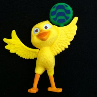 Nico Yellow Canary Bird Frm Rio Movie McDonalds Happy Meal Toy PVC #8