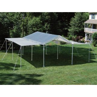 New ShelterLogic 10x20 House Garage Shed Canopy 2 N 1 67093