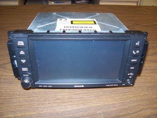 2008 DODGE CHALLENGER CHARGER CD RADIO RER MYGIG GPS NAVIGATION SYSTEM
