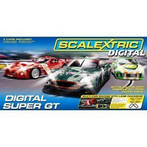 Scalextric Digital Super GT 1 32 Slot Car Race Set