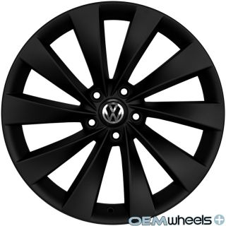 19 Black Turbine Wheels Fits VW Golf Jetta MK5 MKV MK6 Mkvi