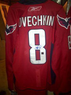 Signed Alexander Ovechkin Hockey Jersey Washington Capitals