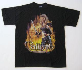 NWOT   Callisto Warrior Queen Large Shirt (1997)   Hudson Leick   Xena