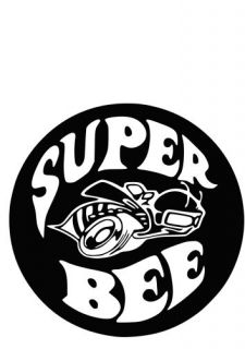 Dodge SUPERBEE Mopar Vinyl Decals Car Stickers
