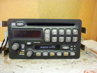 00 04 Pontiac Bonneville Radio CD Cassette Player 25736704