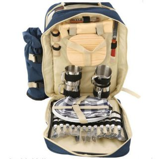 Cookware Outdoor Camping Hiking Cooking Supplies Tableware Backpack