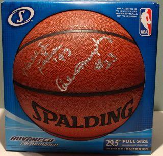 Calvin Murphy Houston Rockets HOF Signed Basketball