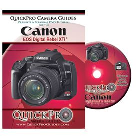 Canon EOS Digital Rebel XTi 400D Instructional DVD Camera Guide Manual