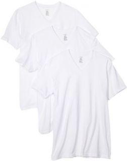 Calvin Klein V Neck T Shirt 3 Pack   m9065 Clothing
