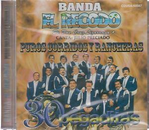 Recodo CD New Puros Corridos Y Rancheras Album Con 30 Canciones