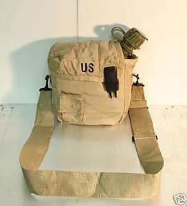 Canteens 2 Qt w Covers Insulated Military Surplus EXC