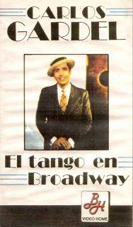 Carlos GARDEL El Tango En Broadway Best Songs ARG VHS