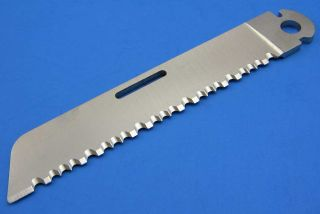 Camillus Factory USA Stainless Serrated Knife Saw Blade Blank Folding