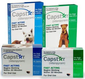 Novartis Capstar Blue Six 6 Tablets Pills Great Exp Date