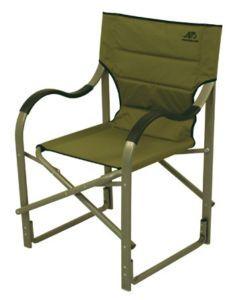 Alps Camp Chair Director Portable Folding Aluminum