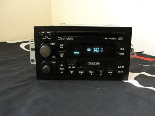 95 01 DELCO BUICK CD CASSETTE AM FM CAR STEREO RADIO # 16213343
