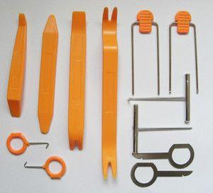 Car Door Plastic Trim Panel Dash Installation Removal Pry Tool Kit