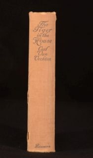 1921 The Tiger in the House Carl van Vechten Cats and Feline Care