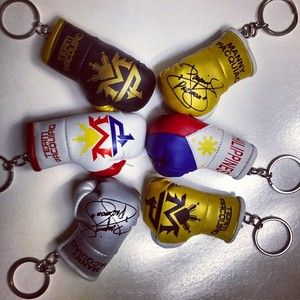Mix Pack Team Pacquiao Signature Philippines Mini Boxing Gloves