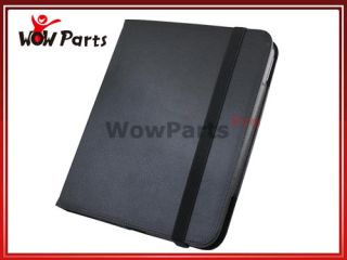 Stand Leather Folio Case Cover for HP Touchpad Tablet