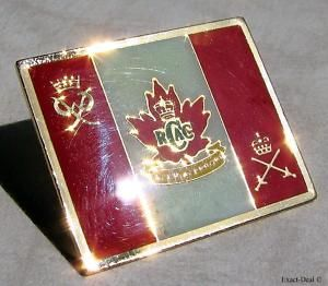 Canada Rcac Royal Canadian Army Cadets Banner Lapel Pin