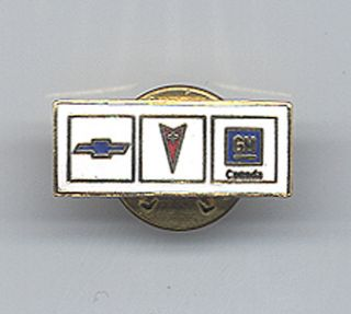 chevrolet pontiac gm canada dealer pin this pin is all metal brand new