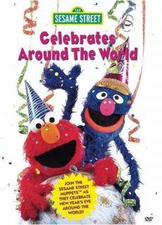 SESAME STREET   CELEBRATES AROUND THE WORLD *NEW DVD***