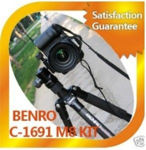 New Benro C 1691TBO C1691 Carbon Fiber Tripod Kit