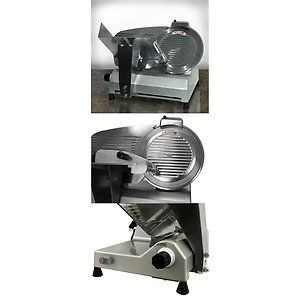 12 Blade Commercial Deli Meat Cheese Food Slicer