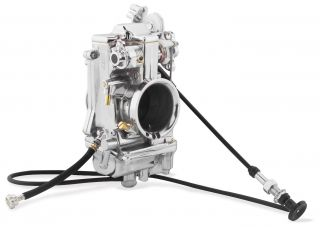 Mikuni Smoothbore Carburetor Kit 48mm Non Polished Harley Davidson 48