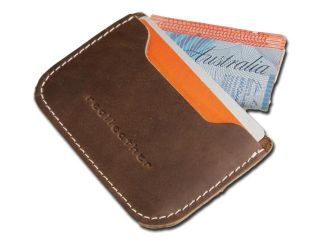 New Leather Card Holder Credit Cards Pocket Wallet Ultra Thin Handmade