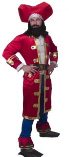 captain morgan rum runner costume adult x large