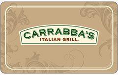 Carrabbas Italian Grill Gift Card $25 $50