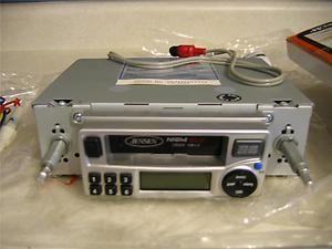 Jensen Am FM Cassette Indash Car Stereo Radio Shaft