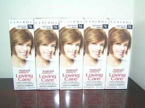 Clairol Natural Instincts Loving Care Light Golden Brown 76 Hair Color