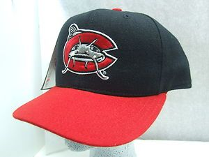 New Era 59 50 Minor Carolina Mudcats Fitted Baseball Cap New 7 1 8 4 2