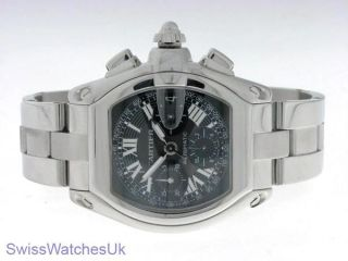 watch london united kingdom model brand cartier roadster gents watch