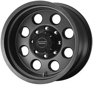 18 inch 18x9 5 ATX Mojave Black Wheels Rims 8x6 5 8 Lug