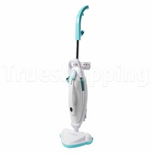 in 1 Steam Mop Floor Carpet Cleaner Hand Held Steamer 1500W