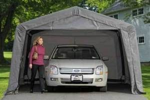 12WX8HX20L Instant Garage Canopy Shelter Shed Car Truck SUV in Grey