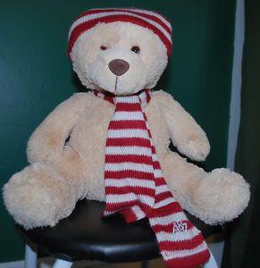 Aeropostale Logo Teddy Bear Plush Toy Stuffed Animal