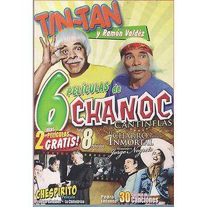 Tin Tan Y Ramon Valdez Chanoc Cantinflas DVD NEW 8 Pk Pedro Infante