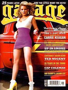 New Garage Magazine Issue 18 Hotrod Carrie Keagan