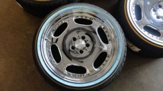 RARE 20 Carlsson 2 6 20 All Chrome Wheels Rims Vogue White Wall