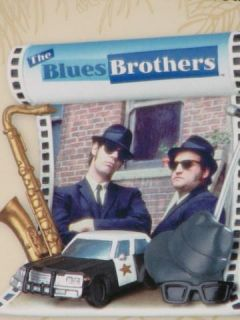 The Blues Brothers Carlton Cards Sound Music Christmas Tree Desk