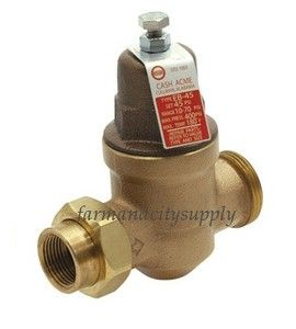 cash acme type e55 pressure regulator regulating reducing brass valve. Black Bedroom Furniture Sets. Home Design Ideas