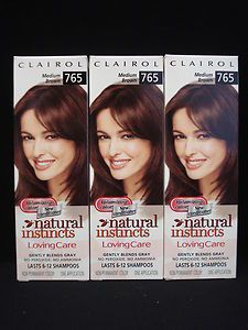 Natural Instincts Loving Care Hair Color Medium Brown 765